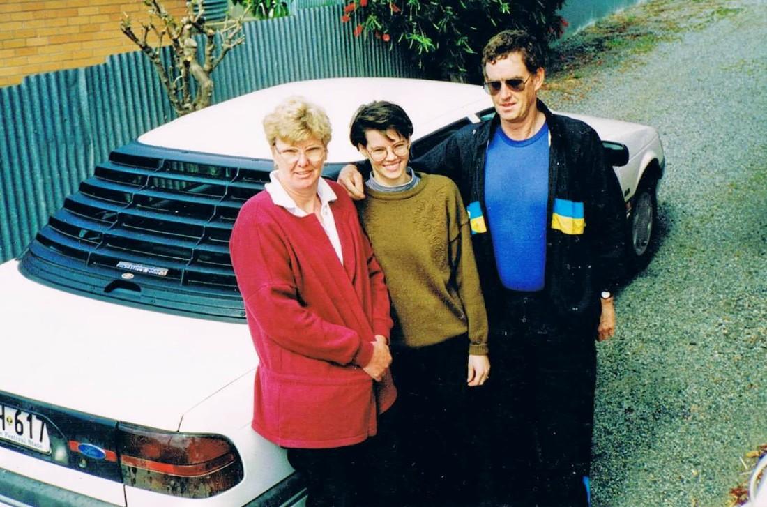 Mum; Dad & Chook Pt Ln Oct 1993